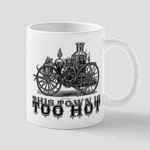 Too Hot - Fire Truck Mug
