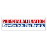 Parental Alienation Bumper Sticker (10 pk)