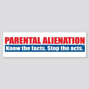 Parental Alienation Sticker (Bumper)