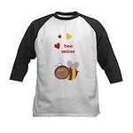 Bee Mine Kids Baseball Jersey