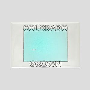 Colorado grown Rectangle Magnet