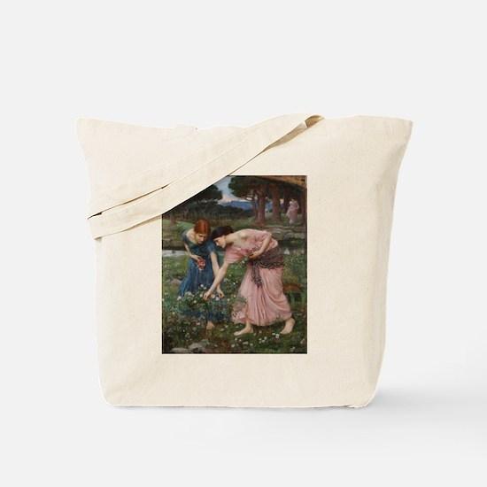 Gather Ye Rosebuds While Ye M Tote Bag