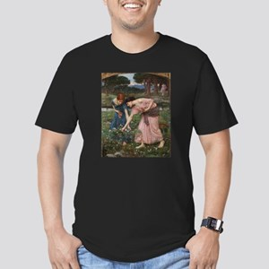 Gather Ye Rosebuds While Ye M Men's Fitted T-Shirt
