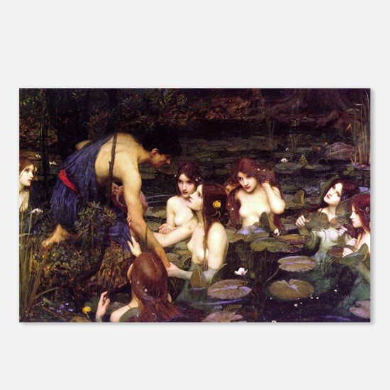 Hylas and the Nymphs Postcards (Package of 8)