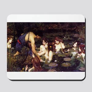 Hylas and the Nymphs Mousepad