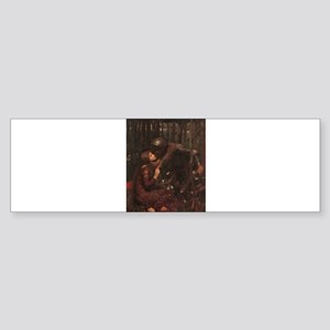 La Belle Dame Sans Merci Sticker (Bumper)