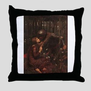La Belle Dame Sans Merci Throw Pillow