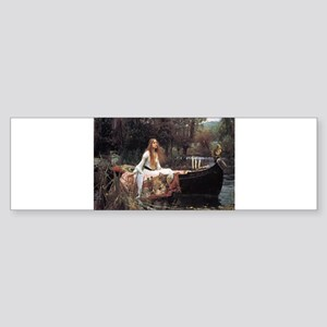 Lady of Shalott Sticker (Bumper)