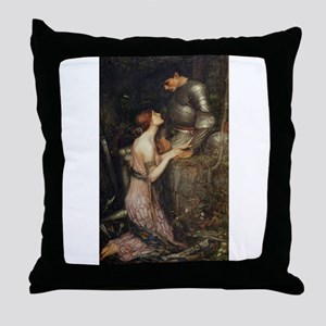 Lamia Throw Pillow
