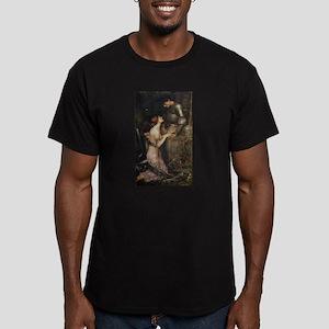 Lamia Men's Fitted T-Shirt (dark)