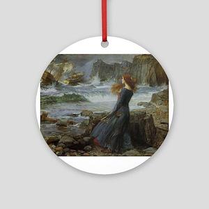 Miranda Ornament (Round)