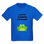 You're toadally awesome Kids Dark T-Shirt