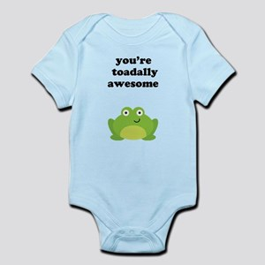 You're toadally awesome Infant Bodysuit