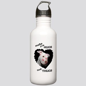Made for Hugs, Not Thugs Stainless Water Bottle 1.