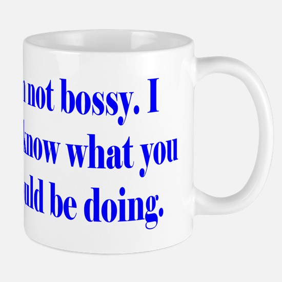 Not Bossy Mug