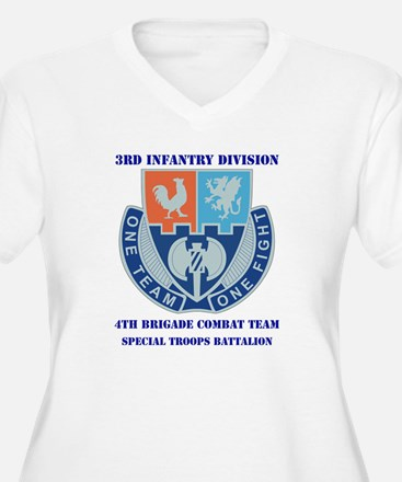 DUI - 4th BCT - Special Troops Bn with Text Women'