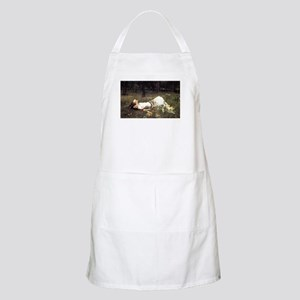 Ophelia Lying in the Meadow Apron