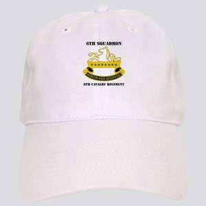 DUI - 6th Sqdrn - 8th Cavalry Regt with Text Cap