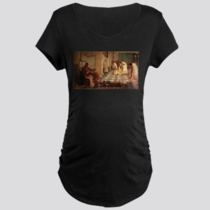 The Favorites of the Emperor Maternity Dark T-Shir