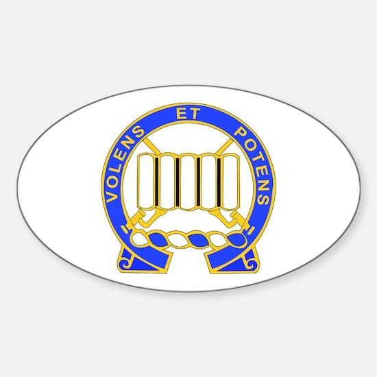 DUI - 3rd Bn - 7th Infantry Regt Sticker (Oval)