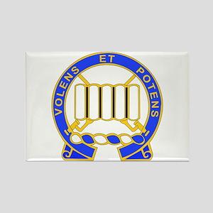 DUI - 3rd Bn - 7th Infantry Regt Rectangle Magnet