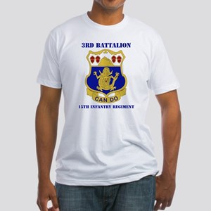 DUI - 3rd Bn - 15th Infantry Regt with Text Fitted
