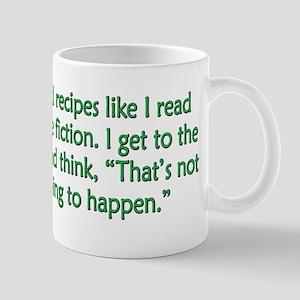 Science Fiction Recipes Mug