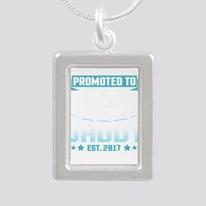 Promoted To Daddy Est. 2017 Necklaces