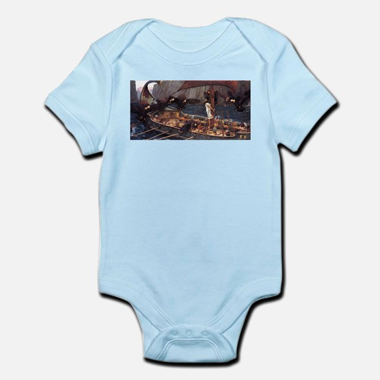 Ulysses and the Sirens Infant Bodysuit