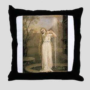 Undine Throw Pillow
