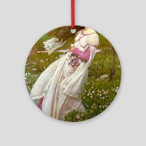 Windflowers Ornament (Round)