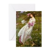 John william waterhouse Greeting Cards
