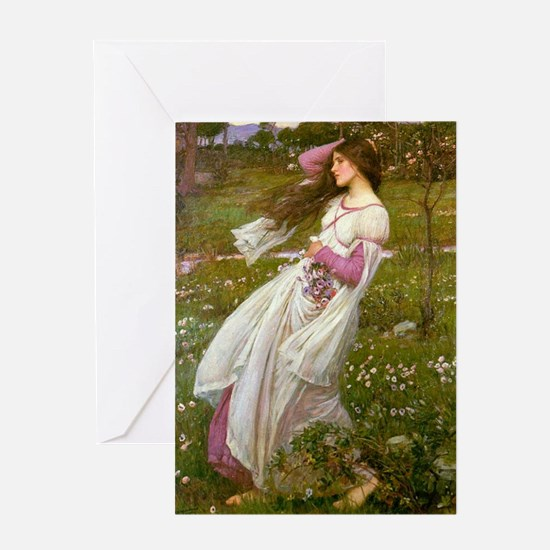 Windflowers Greeting Card