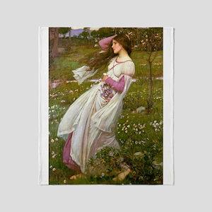 Windflowers Throw Blanket