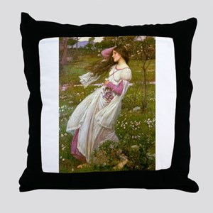 Windflowers Throw Pillow