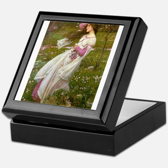Windflowers Keepsake Box