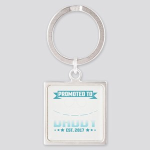 Promoted To Daddy Est. 2017 Keychains