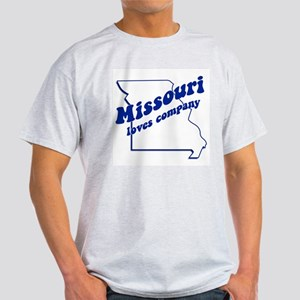 Vintage Missouri Ash Grey T-Shirt
