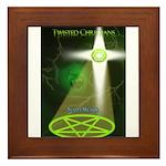 Twisted Christians Framed Tile