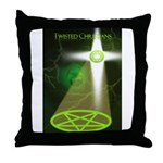 Twisted Christians Throw Pillow