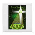 Twisted Christians Tile Coaster