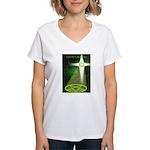 Twisted Christians Women's V-Neck T-Shirt