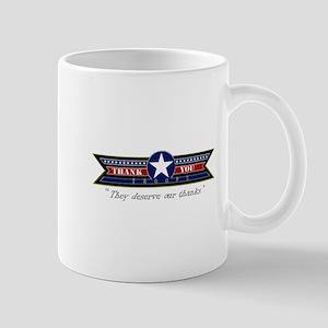 Thank You Troops Mug