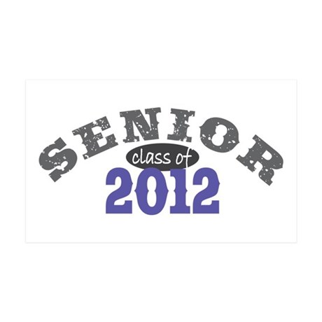 Senior Class of 2012 38.5 x 24.5 Wall Peel