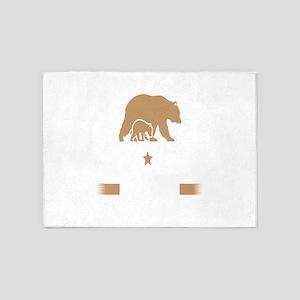 Papa Bear Est. 2016 5'x7'Area Rug