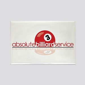 Absolute Billiard Service Rectangle Magnet