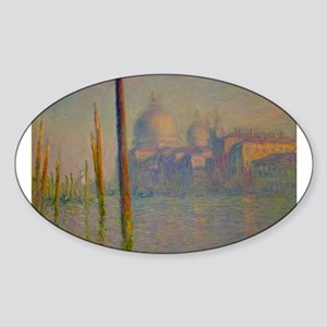The Grand Canal, Venice Sticker (Oval)