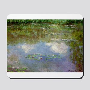 Water Lillies (The Clouds) Mousepad