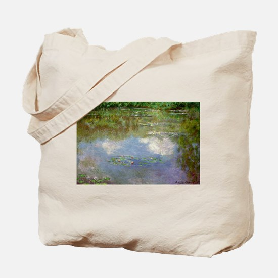 Water Lillies (The Clouds) Tote Bag