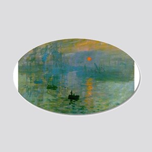 Impression, Sunrise 22x14 Oval Wall Peel